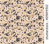 cute pattern in small flower.... | Shutterstock .eps vector #409899502