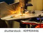 spot welding industrial... | Shutterstock . vector #409904446