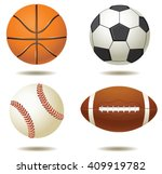 vector illustration of sport... | Shutterstock .eps vector #409919782