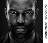 intense african american studio ... | Shutterstock . vector #409920292