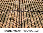 brick wall and shadow | Shutterstock . vector #409922362