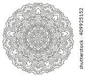 symmetrical circular pattern...   Shutterstock .eps vector #409925152