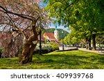 Town Of Samobor Park And Churc...
