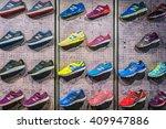madrid  spain   september 9 ...   Shutterstock . vector #409947886