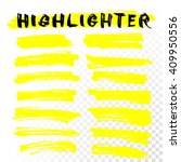Yellow Highlighter Marker...