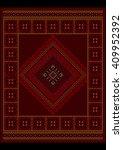 luxurious vintage oriental... | Shutterstock . vector #409952392