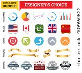 exclusive designer's choice... | Shutterstock .eps vector #409960822