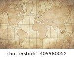 vintage map | Shutterstock . vector #409980052