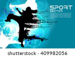 vector of karate | Shutterstock .eps vector #409982056