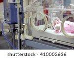 a mannequin of an infant in a... | Shutterstock . vector #410002636