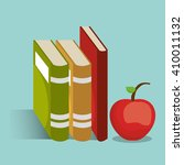 read books design  | Shutterstock .eps vector #410011132