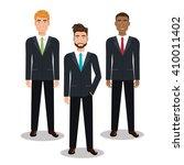 busines people design  | Shutterstock .eps vector #410011402