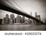manhattan financial district...   Shutterstock . vector #410023276