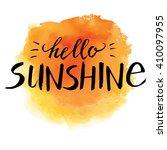 modern typographic design... | Shutterstock .eps vector #410097955
