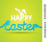 happy easter | Shutterstock .eps vector #410100028