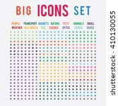 set of sorted ready made icons  ...   Shutterstock .eps vector #410130055