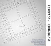 subject vector gray background. ... | Shutterstock .eps vector #410130685