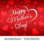 happy mother's day vector... | Shutterstock .eps vector #410136532