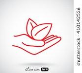line icon  eco | Shutterstock .eps vector #410142526