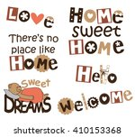 interior wall decals for...   Shutterstock .eps vector #410153368