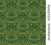 damask seamless pattern...   Shutterstock .eps vector #410155456