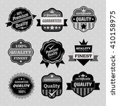 set of color web stickers  ... | Shutterstock .eps vector #410158975