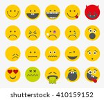 Emoticons  Emoji  Smiley Flat...