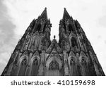 this is roman catholic gothic... | Shutterstock . vector #410159698