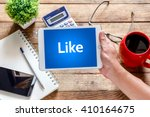 business  technology and... | Shutterstock . vector #410164675