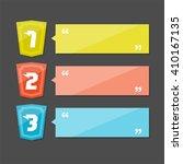 option labels   progress... | Shutterstock .eps vector #410167135