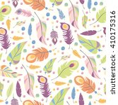 seamless vector pattern with... | Shutterstock .eps vector #410175316