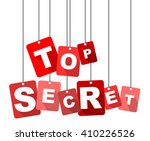 top secret  red vector top