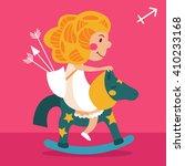 sign of the zodiac. vector... | Shutterstock .eps vector #410233168