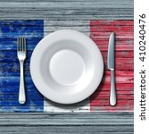 french cuisine food concept as... | Shutterstock . vector #410240476