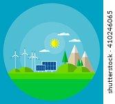 world environment day. vector... | Shutterstock .eps vector #410246065