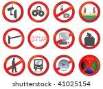 set of different vector... | Shutterstock .eps vector #41025154