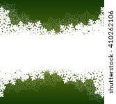 christmas green background with ... | Shutterstock . vector #410262106
