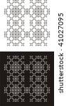 abstract black   white design   Shutterstock .eps vector #41027095