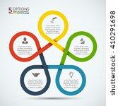 vector infographic design... | Shutterstock .eps vector #410291698