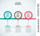 vector circles for infographic. ... | Shutterstock .eps vector #410291782