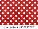 White Dots On Dark Red...