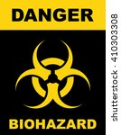 Biohazard Symbol Sign Of...
