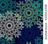 seamless pattern with beautiful ... | Shutterstock .eps vector #410311558