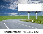 blank billboard for your... | Shutterstock . vector #410312122