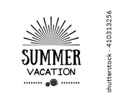 summer time holidays lettering... | Shutterstock .eps vector #410313256