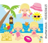 Beach Vector Illustration