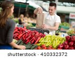 Salesman Measuring Fresh...