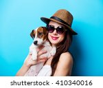 portrait of the beautiful young ... | Shutterstock . vector #410340016