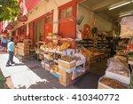 honolulu  hawaii  usa  april 24 ... | Shutterstock . vector #410340772