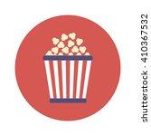 popcorn icon | Shutterstock .eps vector #410367532